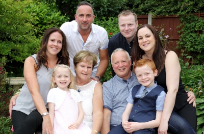 FAMILY PORTRAITS - IN THE GARDEN
