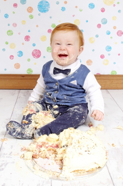 Cake smash/family pictures