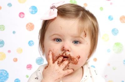 Cake smash for 1st birthday