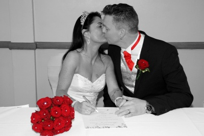 Renewal of vows ceremony and reception (10 years)