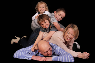 Family Portrait Photographer Bromsgrove Worcestershire